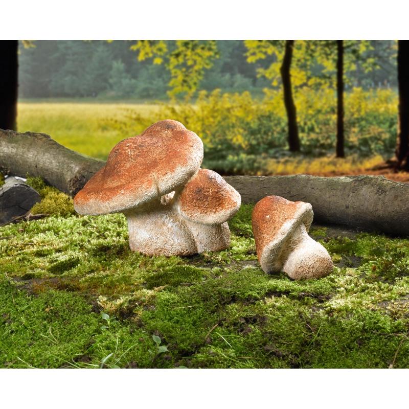 Gartendeko birkenreizker aus terracotta im 2er set for Terracotta gartendeko
