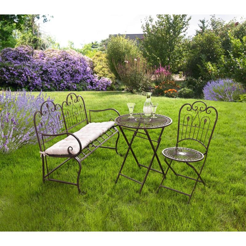 Gartentisch louis aus metall zum klappen - Gartentisch zum klappen ...