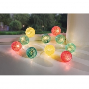 LED-Lichterkette bunt