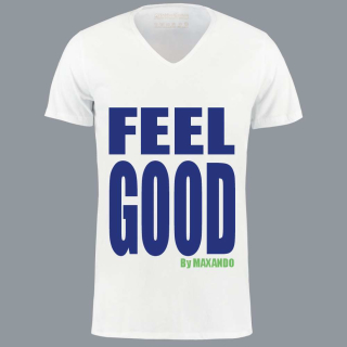 T-Shirt FEEL GOOD von MAXANDO