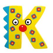 """Bunter Holzbuchstabe, Letter """"K"""""""