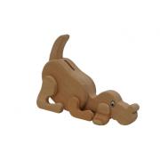 Spardose Hund aus Holz