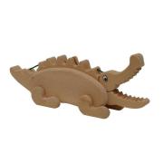 Spardose Krokodil aus Holz