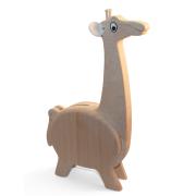 Spardose Giraffe aus Holz